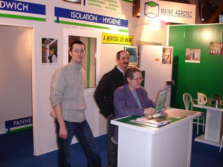 Jean-Patrice CORSON au salon de Rennes