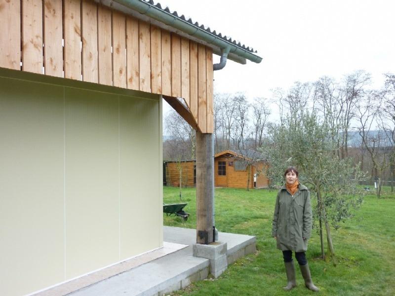 En Avril 2009, Jean Marie Morel termine le gros oeuvre du bâtiment
