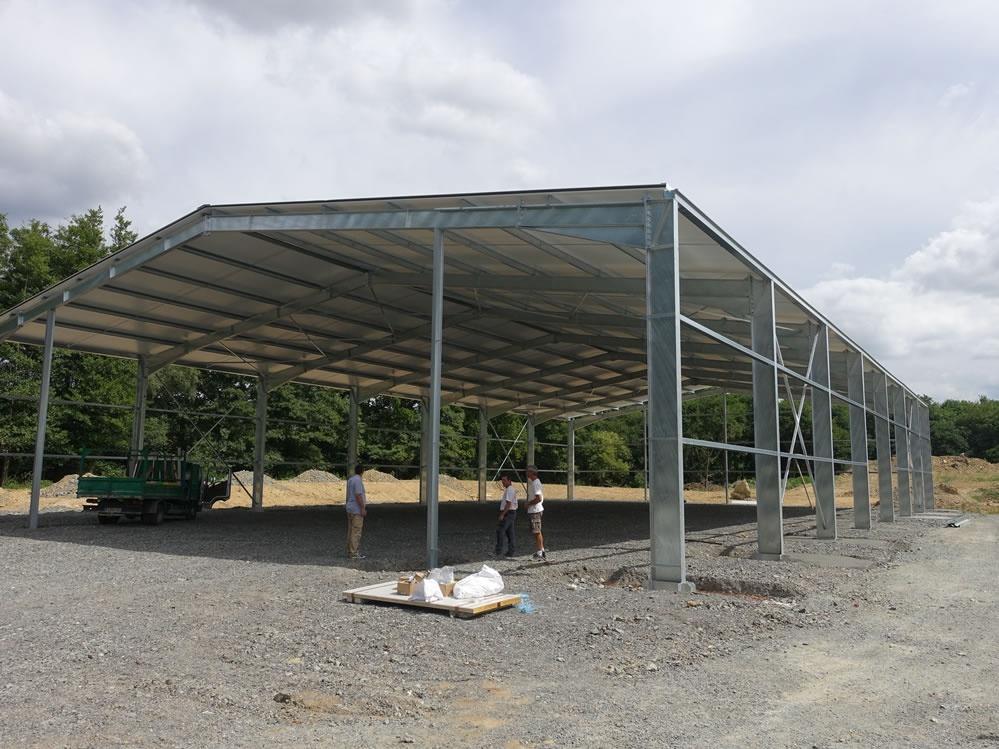 Extension des bâtiments Maine Agrotec à Pré en Pail