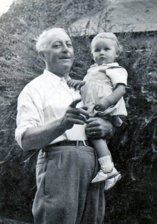 Alexis CORSON et son petit-fils Jean-Michel