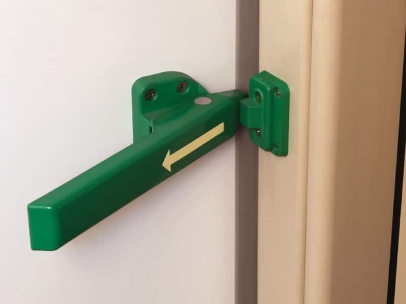 Portes frigorifiquespivotantes poignée intérieure