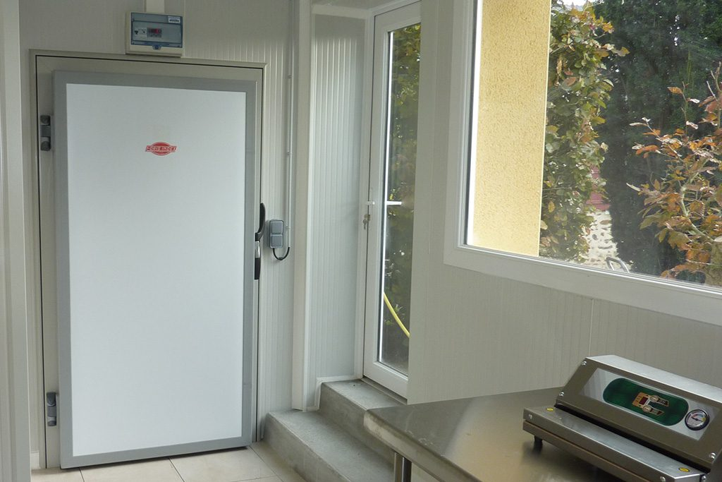 Porte frigorifique pivotante standard