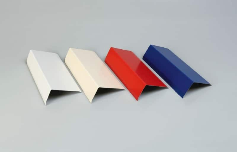 Accessoires cornières de finition Cornières extérieures tôle laquée couleur
