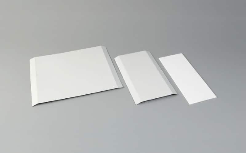 Accessoires cornières de finition Plat d'habillage PVC - tôle laquée