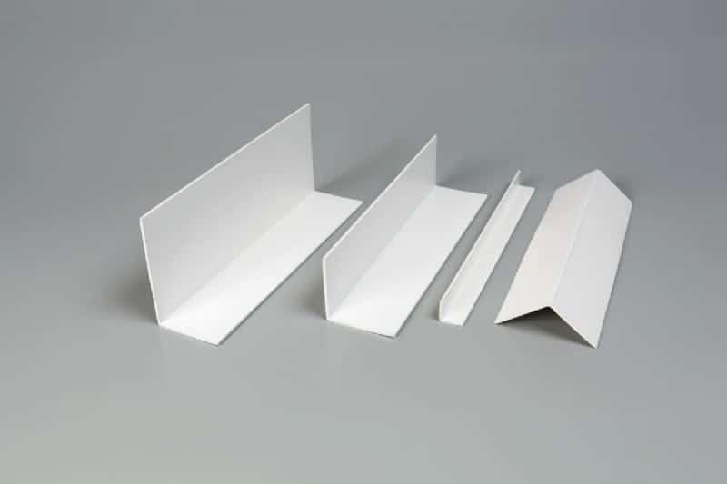 Accessoires cornières de finition Cornières PVC 90° - pliables