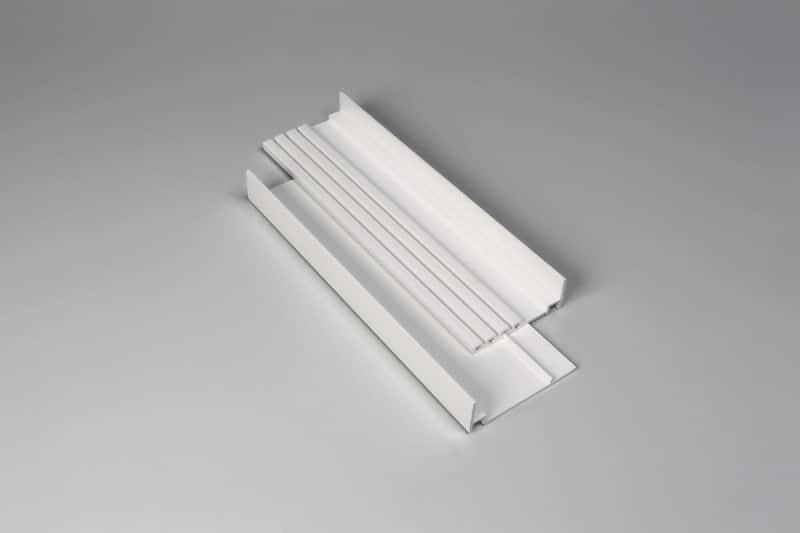 Accessoires U de sol U PVC réglable-MD