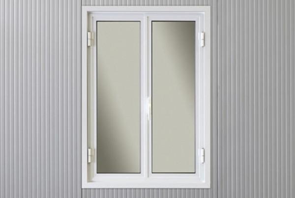 Fenêtres aluminium à la française