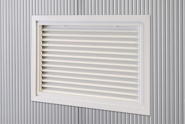 Grilles de ventilation fixes ou réglables