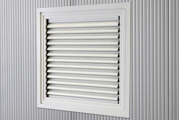 Fenetres grille ventilation Grille alu réglable 970*920