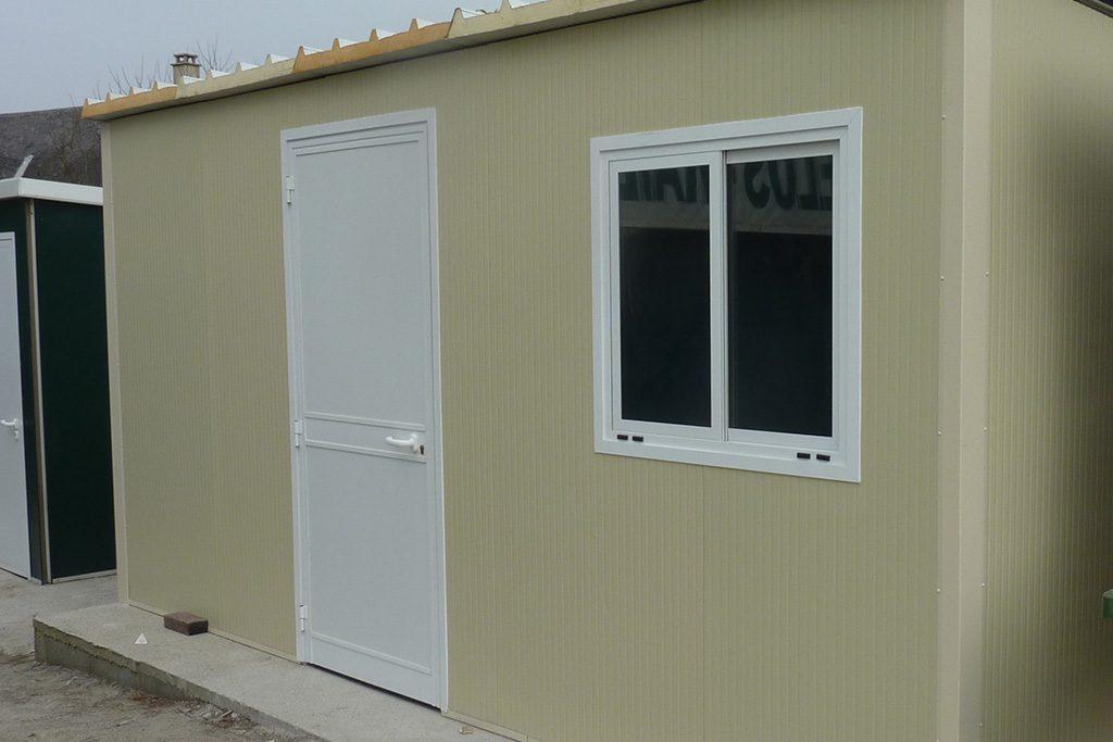 Porte et fenêtre en aluminium laqué blanc
