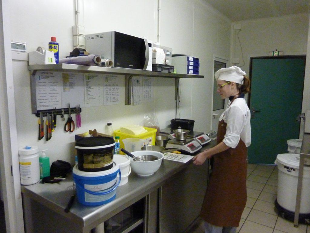 Laboratoire de pâtisserie