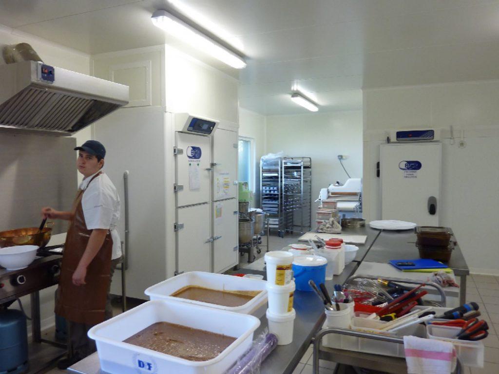 Laboratoire chocolat