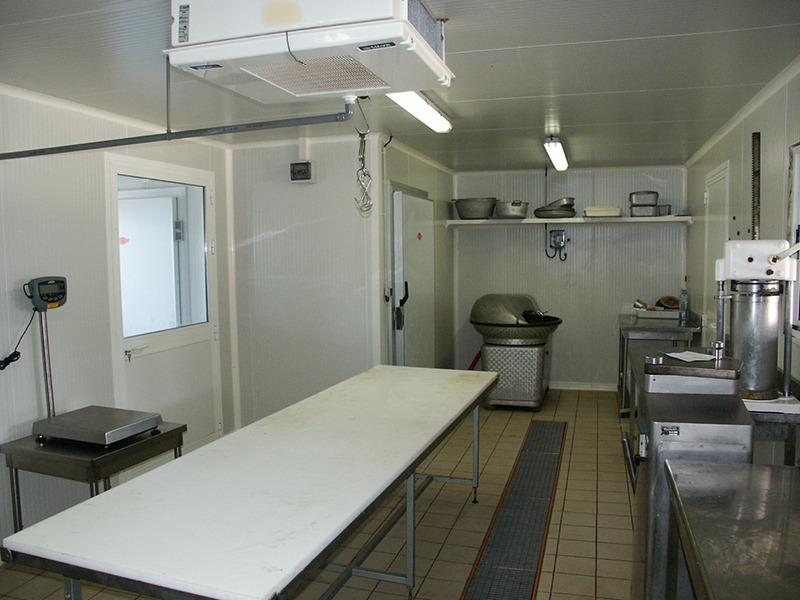 Laboratoire de découpe en panneaux sandwich