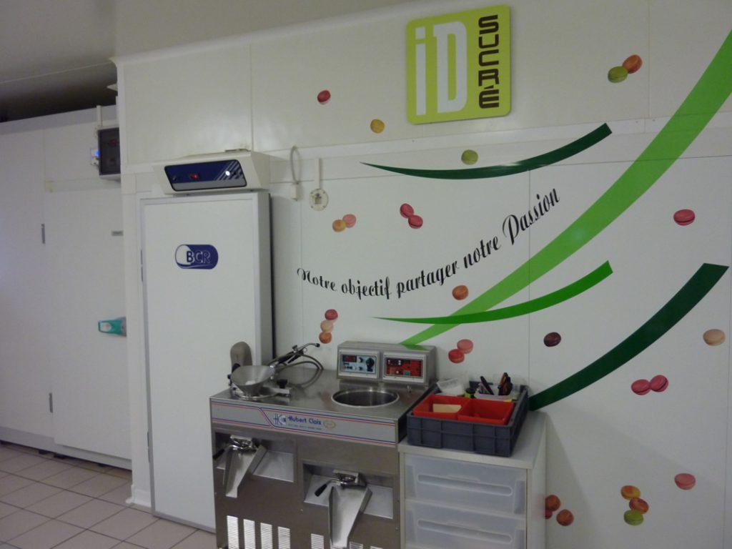 Laboratoire macaron