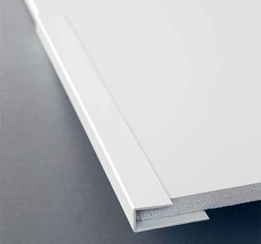 Plaques de PVC 2 mm à coller