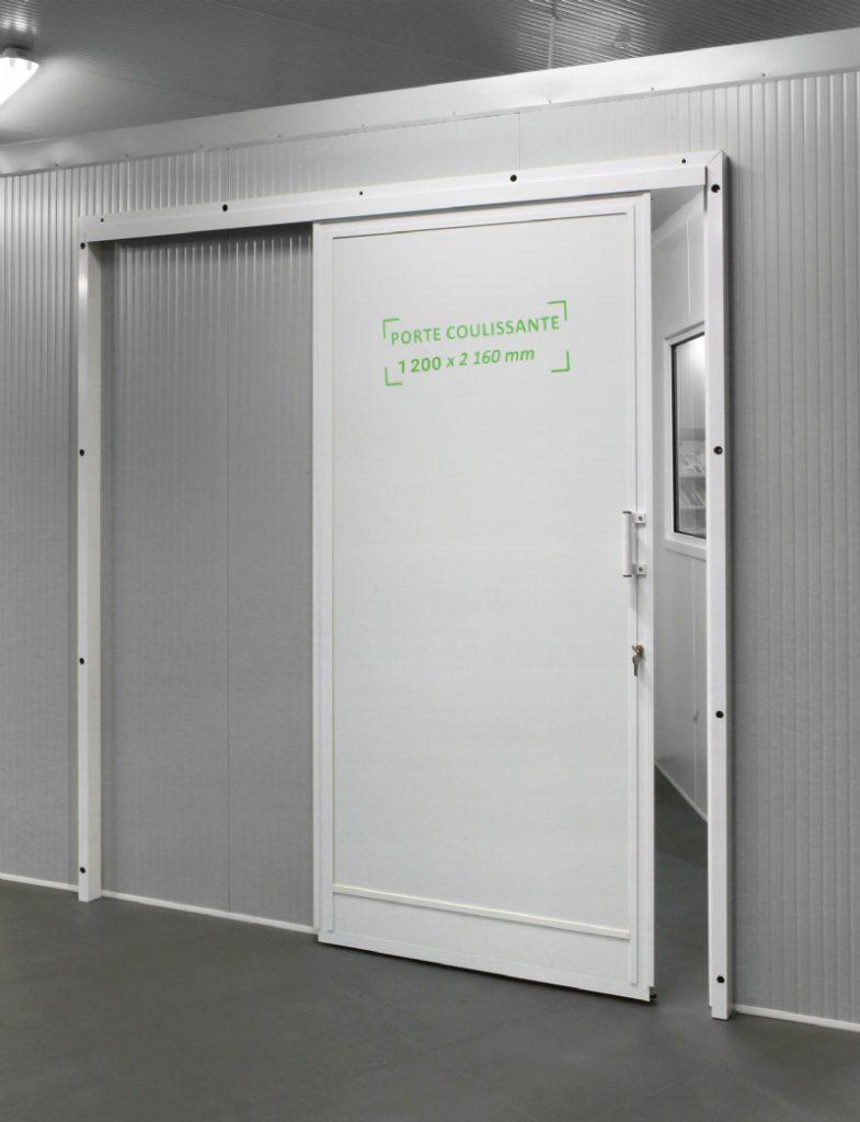 Portes coulissantes aluminium