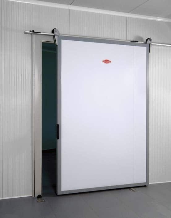 Portes frigorifiques coulissantes MA 80 Largeurs 1000 - 1200 - 1400