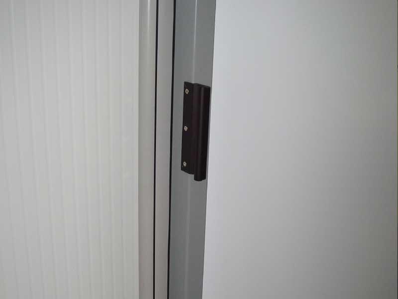 Portes frigorifiques coulissantes MA 80 poignée extérieure