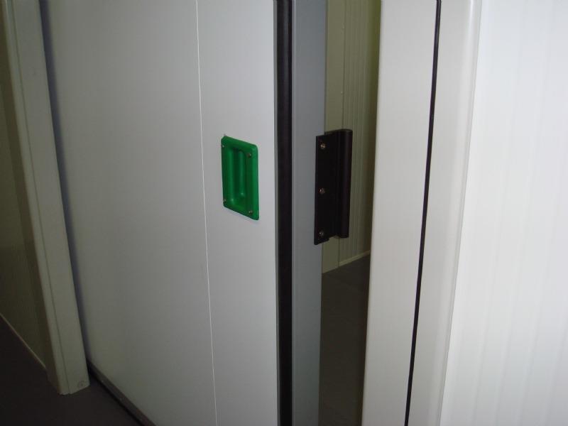 Portes frigorifiques coulissantes MA 80 poignée intérieure