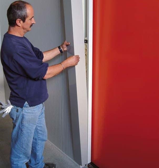 Portes frigorifiques industrielles MA 95 habillage intérieur
