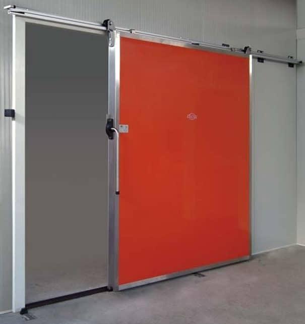 Portes frigorifiques industrielles Largeur 2000 Hauteur 2500 ou 3000