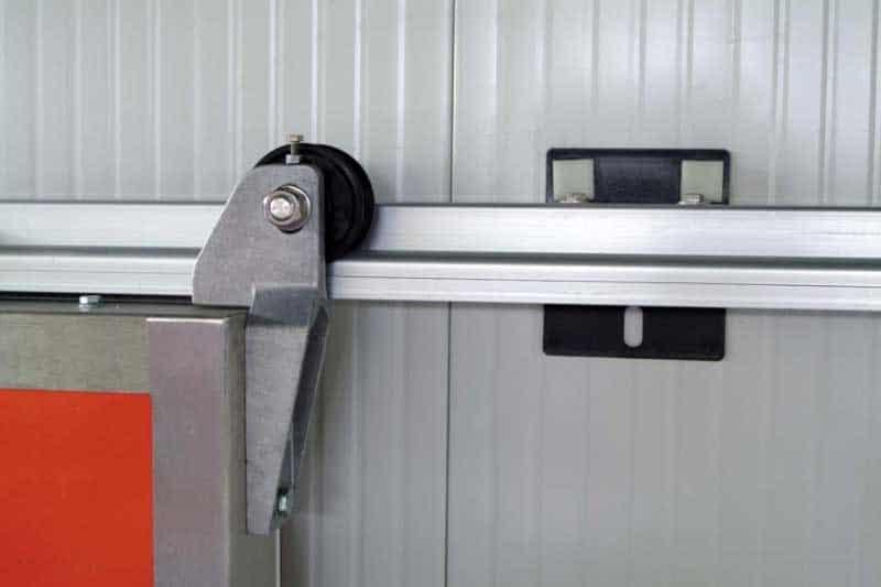 Portes frigorifiques industrielles MA 95 rail