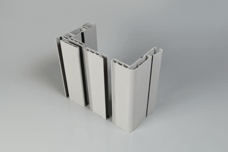 Portes frigorifiquespivotantes profil cadre/contre-cadre panneaux 60 à 100mm