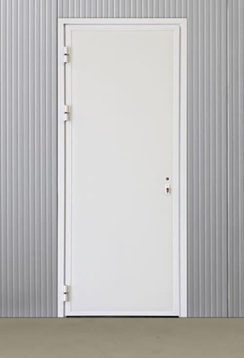 Portes pivotantes alu pleines 820*2060