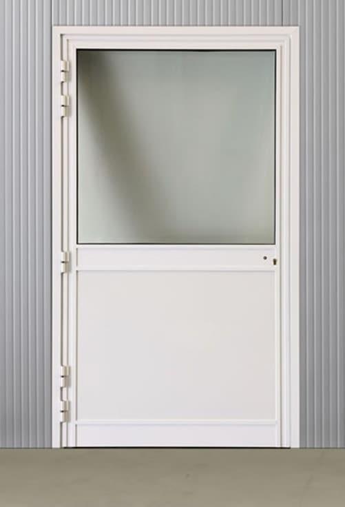 Portes pivotantes alu vitrées 1200*2160