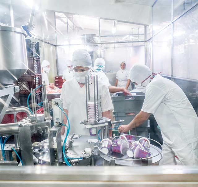 Les panneaux Maine Agrotec répondent aux conditions d'hygiène primordiales des métiers de l'agro-alimentaire.